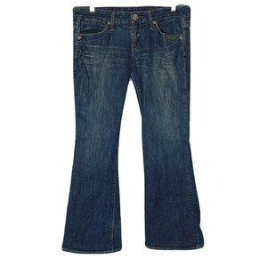BCBGGIRLS Womens Jeans Size 31 Distressed Bootcut